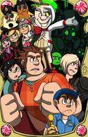 Wreck-It Ralph [Some Spoilers] by forte-girl7