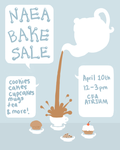 Bake Sale Poster Design by ashleigheperry