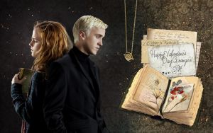 Dramione wallpaper by Kaylina