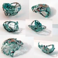 Wrapped Vessel Green by nonparticipant