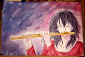 The Golden Flute by FireAsh1000