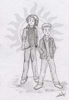 Winchester Brothers by Ladymalk