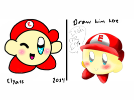 Draw Ely - 2014 Old look by HegyThePuffball01