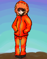 Kenny McCormick crappy doodle. by DaRainbowGurl