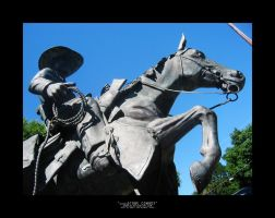 Stone Cowboy by surrexi