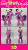 Screwball MLP Plush by SweetKiwiDesign