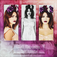 Png Pack 523 - Lali Esposito by BestPhotopacksEverr