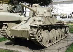 Iranian Panzer 38(t) TNHP  Light Tank 2 by fuguestock
