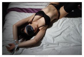 Tied Kacie 06 by 365erotic
