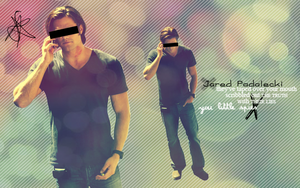 Jared Padalecki Censor wall by MakeshiftShakedown