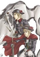 Prussian Glory Days by one-who-draws
