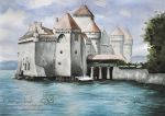Chillon Castle by Marcysiabush