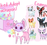 Masked Adopt Gachapon x1 [TEMPORARILY CLOSED] by moxyo