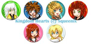 Buttons :: Kingdom Hearts by khiro
