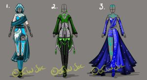Full Clothing Design 1,2,3 [CLOSED] by JxW-SpiralofChaos