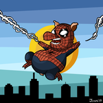 Spider-Pig : Color by Ionahipri