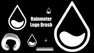 Rainmeter Logo Brush by WrecklessPunk