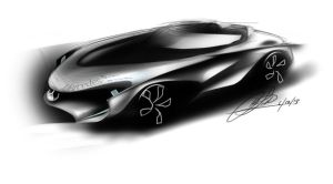 mercedes-benz concept design by chrislah294