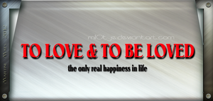 To love and to be loved by M10tje