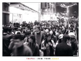 Taipei - New Year 2004 by hh