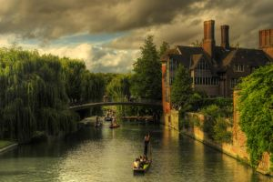 Trinity Hall, Cambridge, UK by bluescript