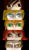 TRG (+2): Persona Eyes by garche4291