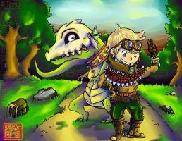 Kay and Michu'sGrandeAdventure by GabeRamos