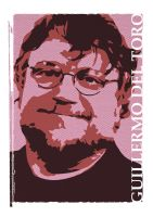 Guillermo del Toro by Mroobalooba