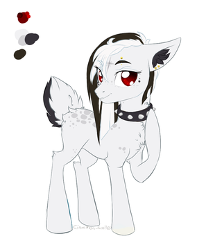 Redesign commission #idk lol by Cinnamon-scroll