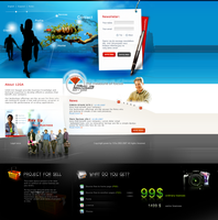 website template - 01 by hpcdesign