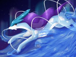 Suicune by Pockymaster13