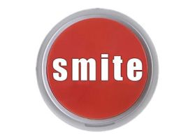 The smite button by mudbloodjew