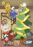 Merry Christmas by LadyDeadPooly