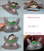 Totoro Pouch by lkcrafts