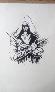 assassin's creed ink by Nox44