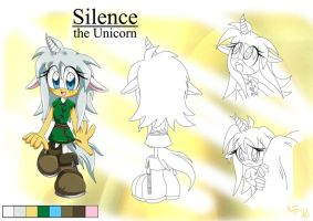 Silence the Unicorn ref by Amarena-Berry