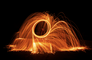 Project Wire Wool II by J-M-S-Photography