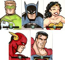 24 Hour Sketchcards 2 - eBay by IanDWalker