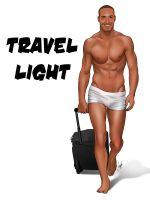 Sexy Male Piup Pop Art - Travel Light by eddiechin