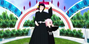 Mmd Yachiru and Yumichina new comers Bleach~ by GgHetalian