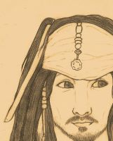 Captain Jack Sparrow by Sheevee