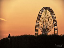 Sunset in Paris 2 by Klaudiqa-scarry-doll