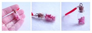 Peppermint candies bottle by caithness-shop
