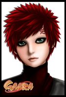 GAARA: self portrait by QUDIST