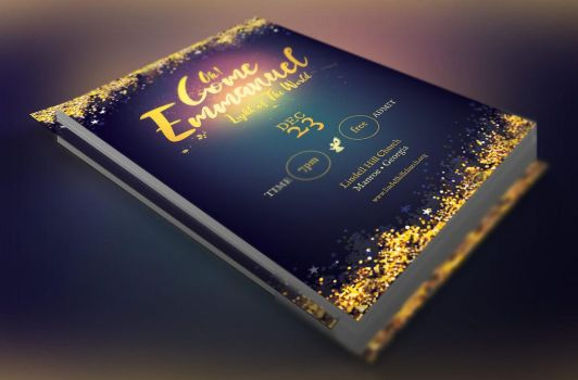 Emmanuel Christmas Flyer Template by Godserv