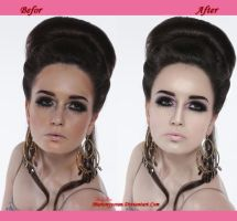 Befor and After retouch 2 by RubyRosy