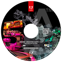 ADOBE CREATIVE SUITE 5 CDCOVER by paundpro
