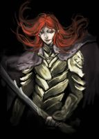 Maedhros the Tall by lilithran