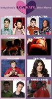 Love Hate meme - Glee style by cassidysmith15