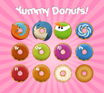 Yummy Donuts by mongoosedoom